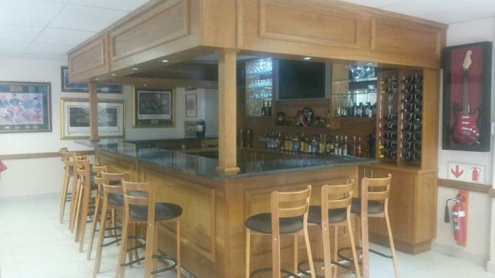 Galloway Woodworks Bar