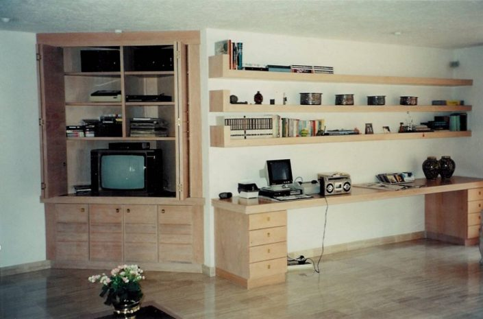 Galloway Woodworks Wall Units, Study